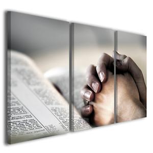 Stampe su tela canvas religiose La bibbia immagini sacre capezzale