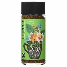 Clipper Fairtrade Organic Decaf Latin American Instant Coffee 100g