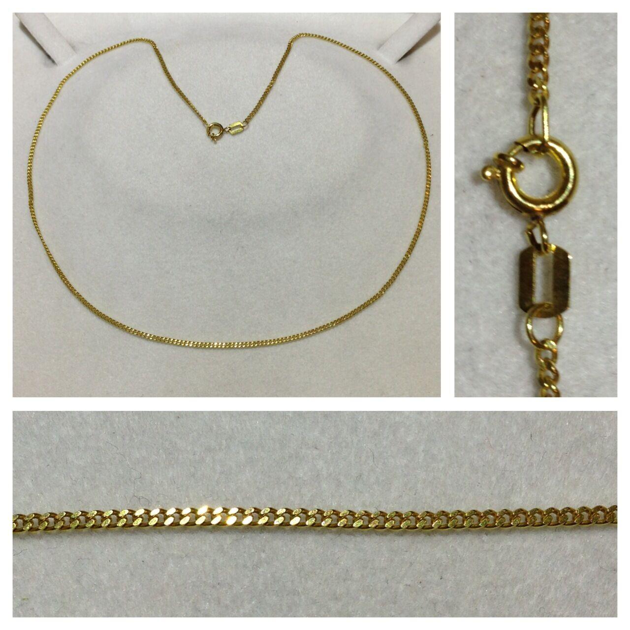 goldkette Collier 333 er gold Kette aus gold 8 Karat goldcollier L 45 cm