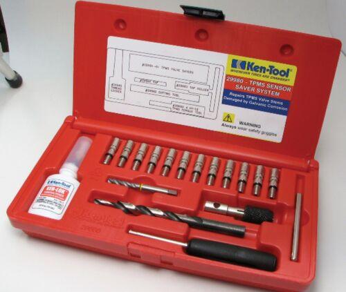 reCore™ TPMS Sensor Saver System master kit valve core /& stem Replace Ken 29980