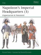 Elite: Napoleon's Imperial Headquarters (1) : Organization and Personnel 115 by
