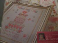 'Wedded Bliss' Jane Henderson cross stitch chart(only)