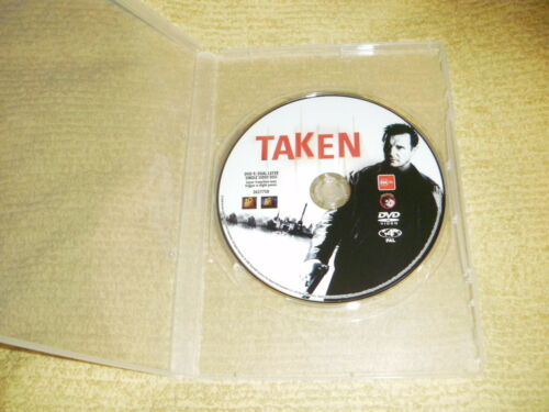 1 of 1 - TAKEN action 2008 DVD as NEW Liam Neeson famke janssen thriller R4