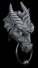 Türklopfer - Drache Kryst schwarz - Deko Figur Gothic Fantasy