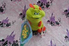 Rare Bugs Life Plush Heimlich Bean Bag Caterpillar Disney Store Stuffed Toy