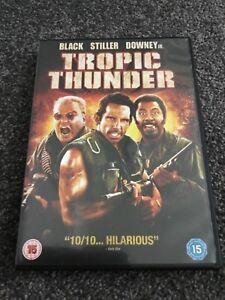 TROPIC THUNDER BEN STILLER DVD PERFECT CONDITION - South Yorkshire, United Kingdom - TROPIC THUNDER BEN STILLER DVD PERFECT CONDITION - South Yorkshire, United Kingdom
