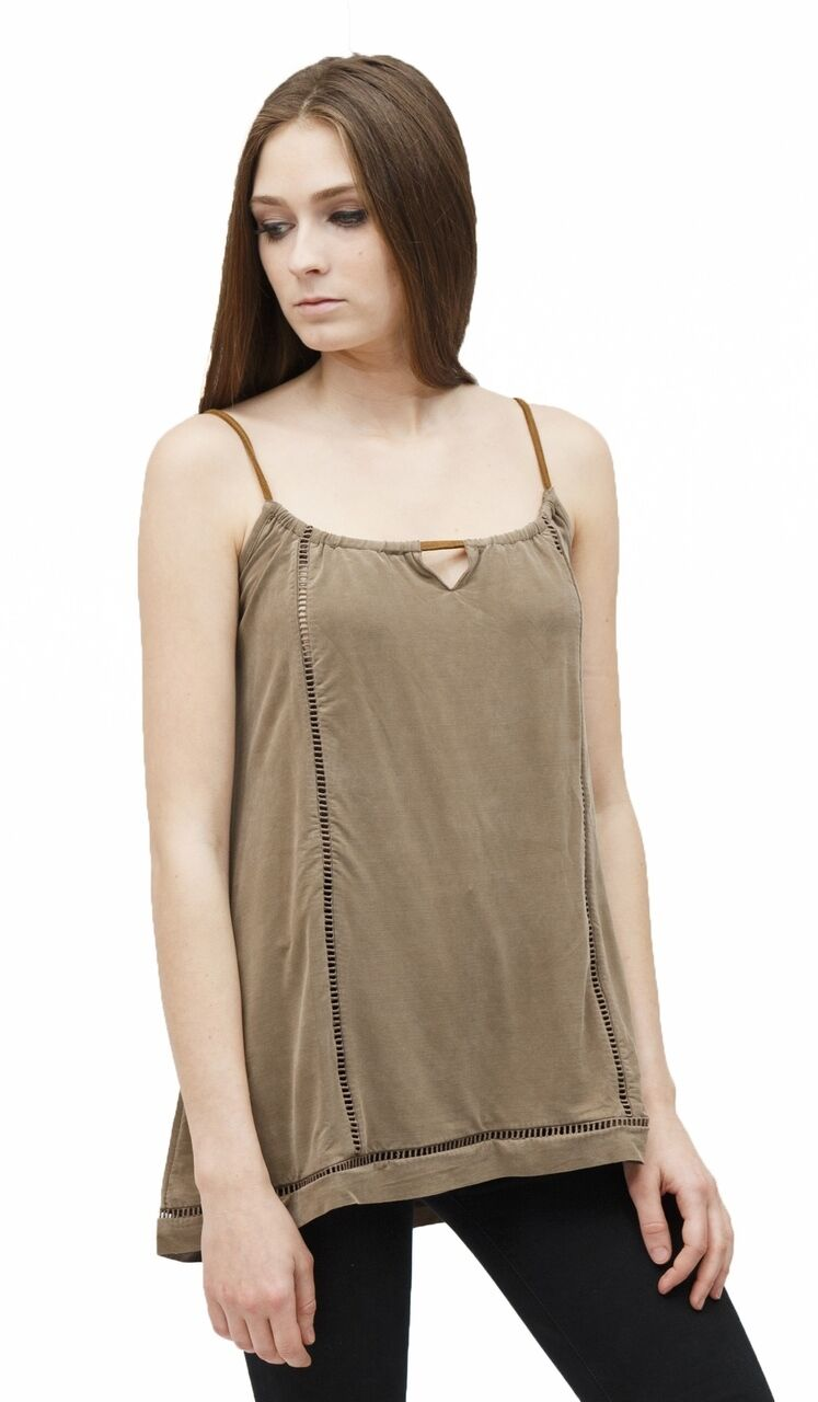 Native Outsiders Zoe Gingersnap Tank