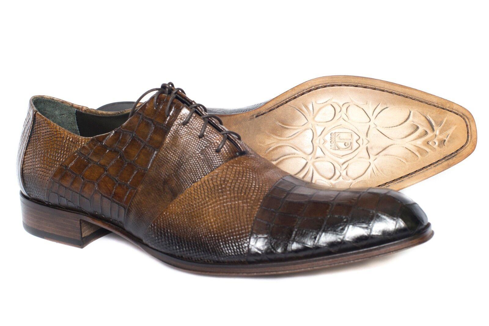 Zapatos de de Zapatos Cuero Jo Ghost 387916 Italiano Con Cordones Para hombre de impresión. ba60c5