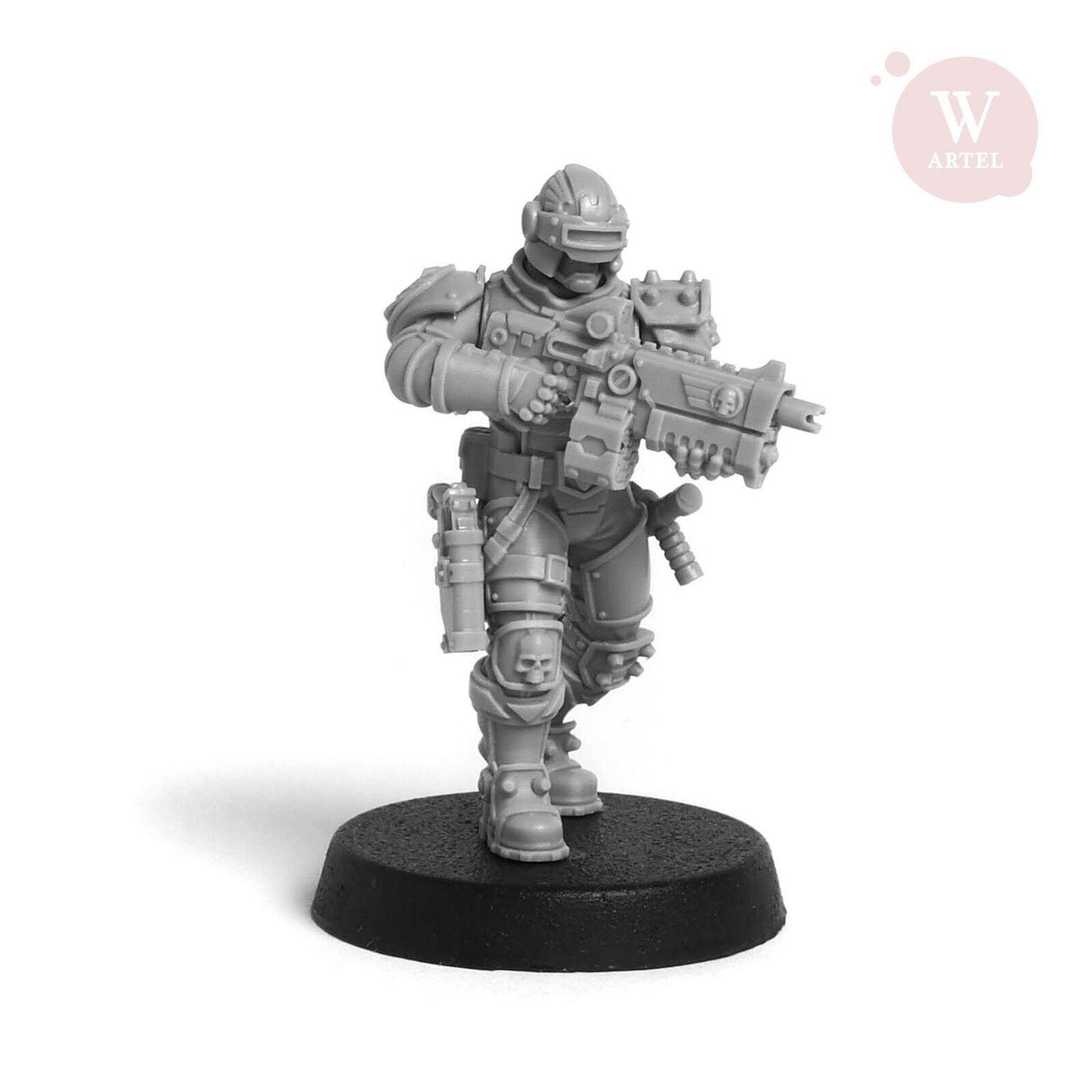 Law Law Law Enforcement Unidad Imperium Ejército Artel W Miniatures 6c9968