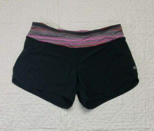 Lululemon Womens Running Shorts Pink Size 6