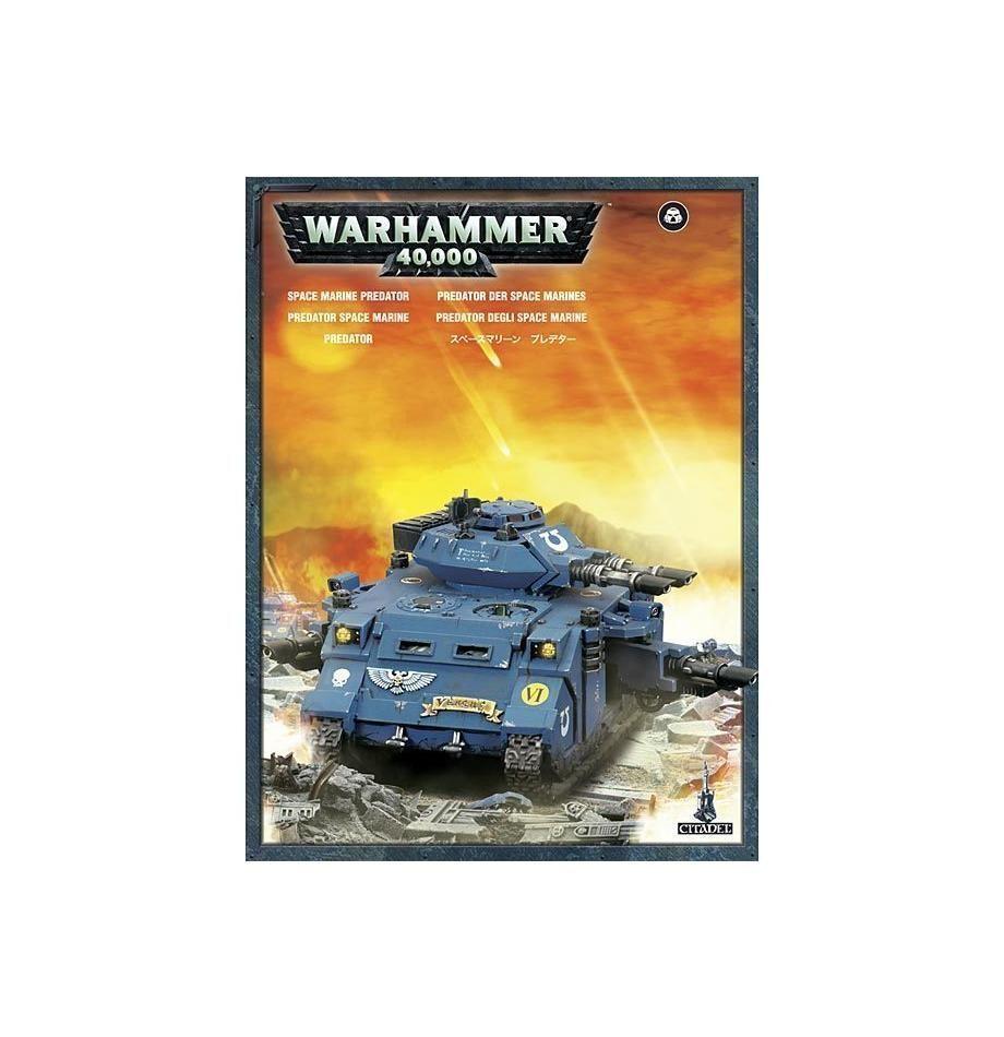 Warhammer 40k - space marine raubtier - brand new in box - 48-23