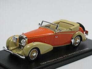 ESVAL MODELS 1934 Hispano-Suiza J12 Vanvooren Cabriolet offen Modellauto 1/43