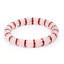 miniature 1 - Bracelet Red Cubic Zirconia Natural Pink Agate Stone Yoga Beads f Women UKseller