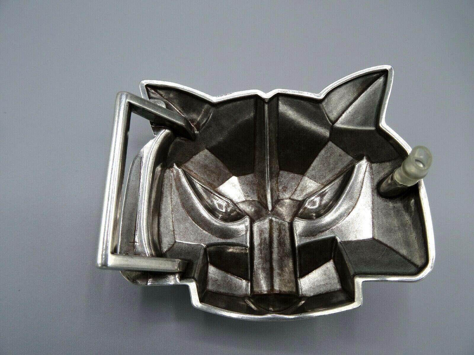 Gürtelschnalle Buckle 3D Design Wolf Raubtier Hund Gürtelschnalle 4 cm TOP /D9