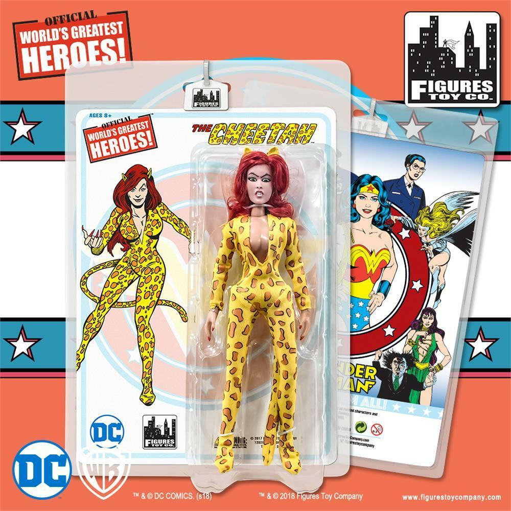 DC Comics Wonder Woman Series CHEETAH  Retro 8 Inch Action Figure  new