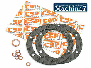 Clasico-VW-Beetle-Motor-Carter-De-Aceite-cambio-Junta-Conjunto-1200-1600cc-Bicho-Camper-CSP