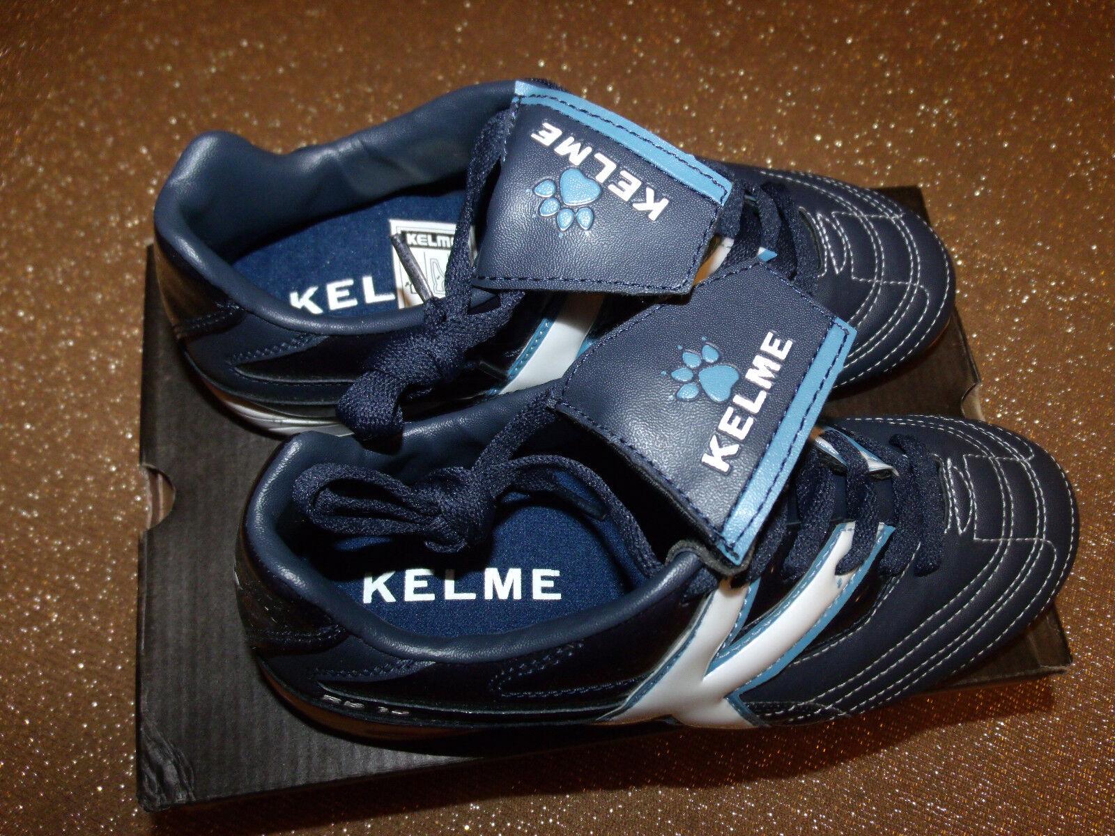 Nuovo YOUTH Soccer Cleats KELME 55611,  RB-15 T JUNIOR JUNIOR JUNIOR - Navy/Marino 107 Size 5.0 73b641
