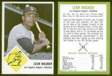 (24853) 1963 Fleer 21 Leon Wagner Angels-EM