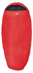 Sleepwell 300 Sleeping Bag RED (2 Season) -  210cm x 110cm  Camping / Festival