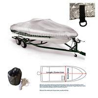 Fishing Ski Storage Mooring All Season Boat Cover Fits 16'-18'l
