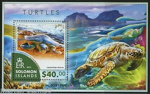 SOLOMON-ISLANDS-TURTLES-SOUVENIR-SHEET-MINT-NH