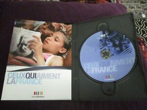 """DVD + LIVRET """"CEUX QUI AIMENT LA FRANCE"""" Sofia LASSOUED Karole ROCHER Lyes SALEM"""