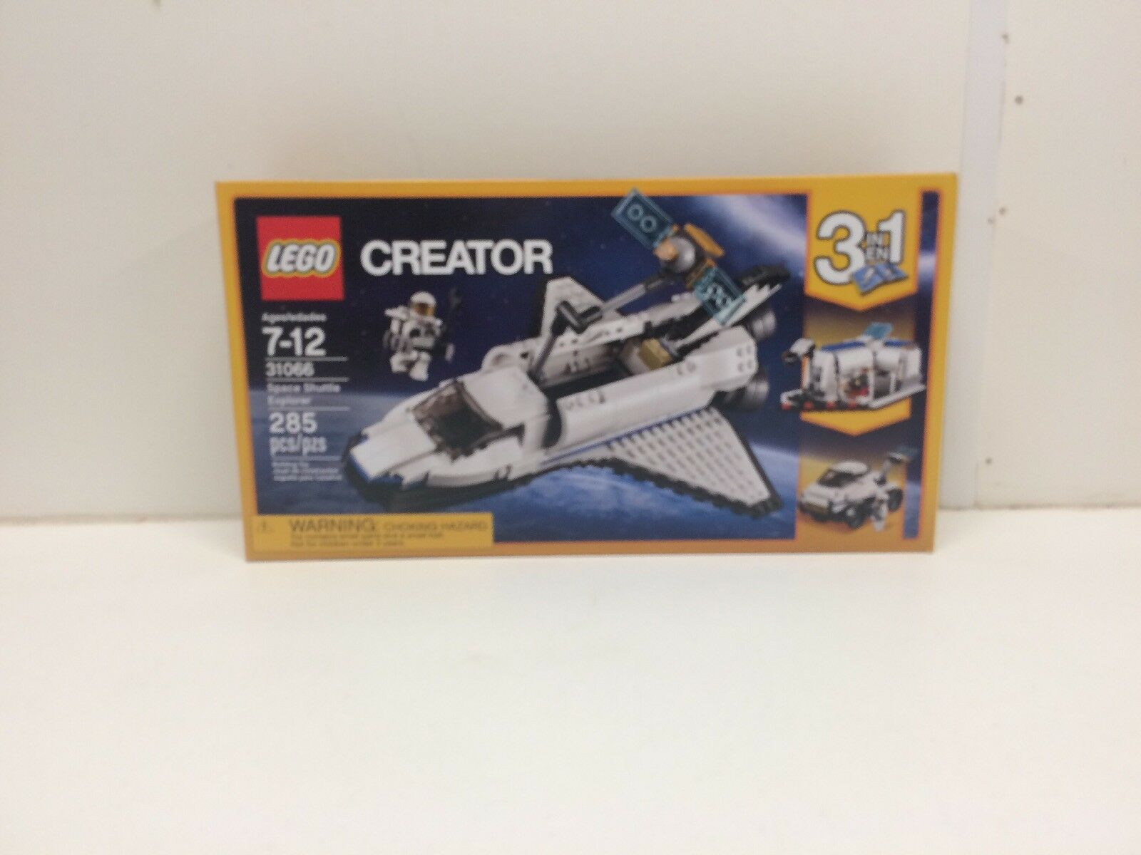 NEW NIB LEGO Creator 31066 Space Shuttle ExplorerSealed NISB NIB