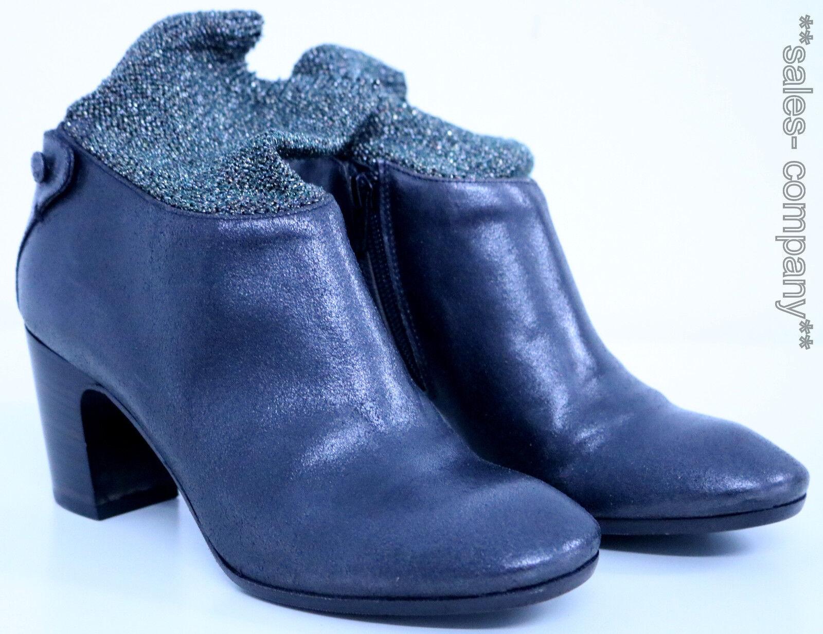 FRU.IT Stiefelette Ankle Bootie Gr.37,5 Leder Braun NEU+OVP LP 279