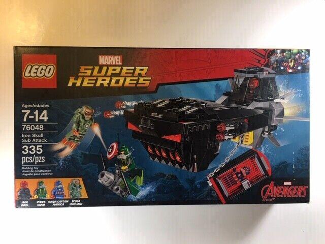 Iron Skull Minifigure NEW 76048 LEGO Super Heroes Set