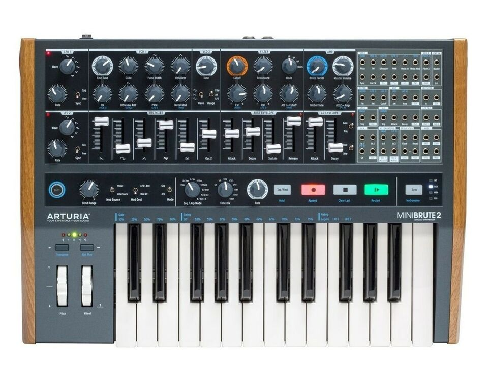 Synthesizer, Arturia Minibrute 2 synthesizer