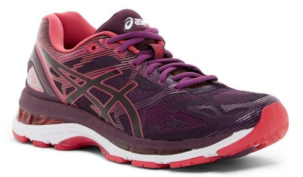 ASICS GEL-Nimbus GEL-Nimbus GEL-Nimbus 19 Women's Running shoes Black Cosmo Pink Winter Bloom Size 5 6a292f