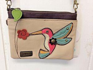 Charming Chala Humming Bird Purse Mini Crossbody Bag Handbag
