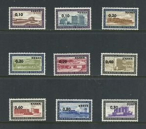 B243-Ecuador-1964-Quito-Conference-SURCHARGED-9v-MNH
