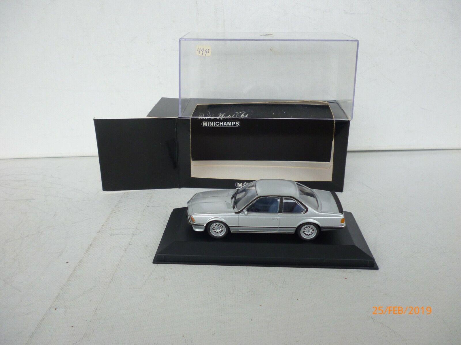 tienda de pescado para la venta 1 43 Minichamps BMW M 635 635 635 CSI Coupe IN plata gris  NEW OVP  solo cómpralo