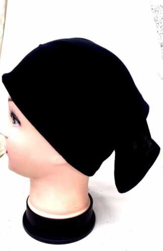 Top Quality Black White Women Ladies Under Scarf Hijab Tube Bonnet Bone Cap