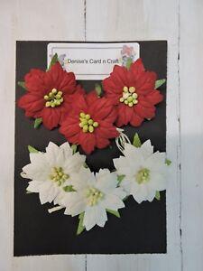 Paper-Flowers-Christmas-Flowers-Pointsetia-Design