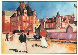 Postcard-Raoul-Dufy-Trouville-painting