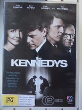 THE KENNEDYS 2 x DVD Set Mini Series TV Drama Excellent Condition! Katie Holmes