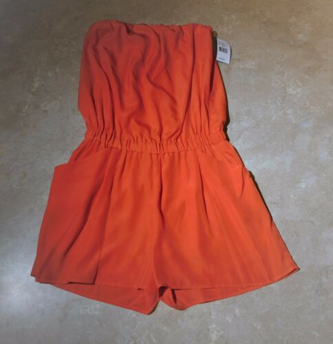 Romper Orange S Collective Ps7137 887510093070 Concepts 05 Strapless 609 OnzTx
