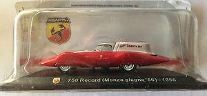 DIE-CAST-034-750-RECORD-MONZA-GIUGNO-039-56-1956-034-TECA-RIGIDA-BOX-2-SCALA-1-43