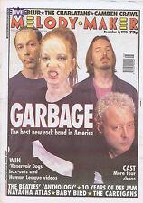 GARBAGE / BEATLES / DEF JAM / NATACHA ATLASMelody Maker 2Dec1995