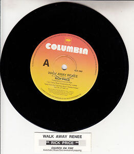 rick price walk away renee 7 45 rpm vinyl record juke box title strip rare ebay. Black Bedroom Furniture Sets. Home Design Ideas
