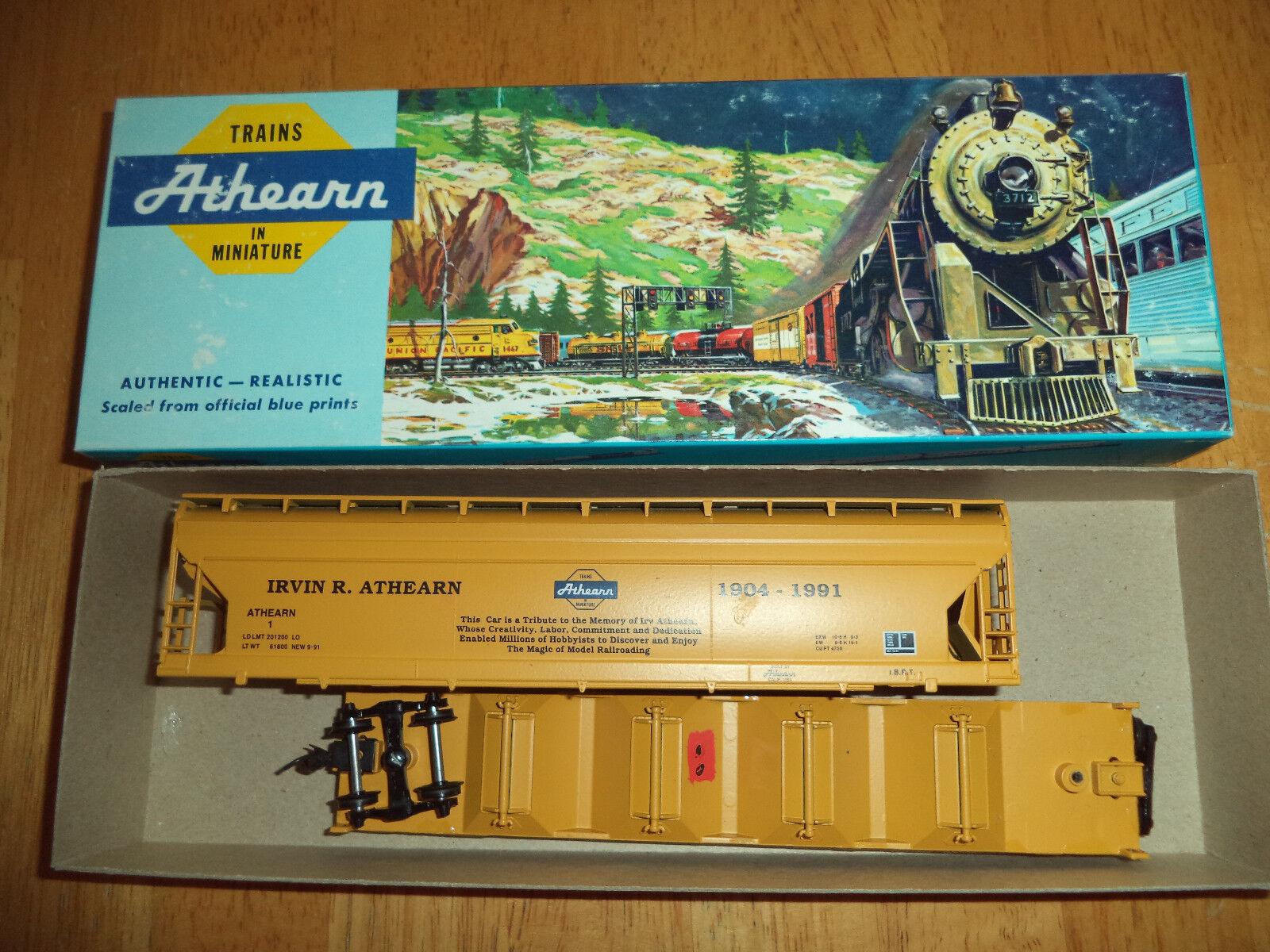 Irvin R. Athearn Memorial Car 55' Center Flow Hopper HO Scale Train Hobby Model
