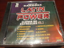 LATIN POWER KARAOKE VCD DVD VCLP-029 LLUVIA DE ESTRELLAS VOL 2 SEALED