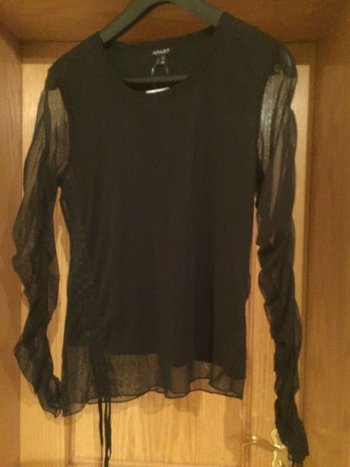 NEU Edles Langarm- Shirt v. APART, Gr. 40, schwarz