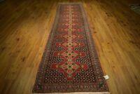 Navy Blue Runner Lowest Price Quality Handmade Rug 3x12 Persian Seneh Carpet