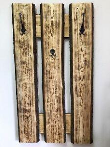 Favorit Paletten Garderobe Rustikal Vintage Möbel Unikat Palettenmöbel | eBay PS91