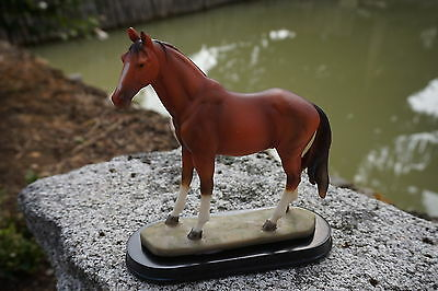 92823 Figurine Statuette Equitation P M U Cheval Jocket Animal