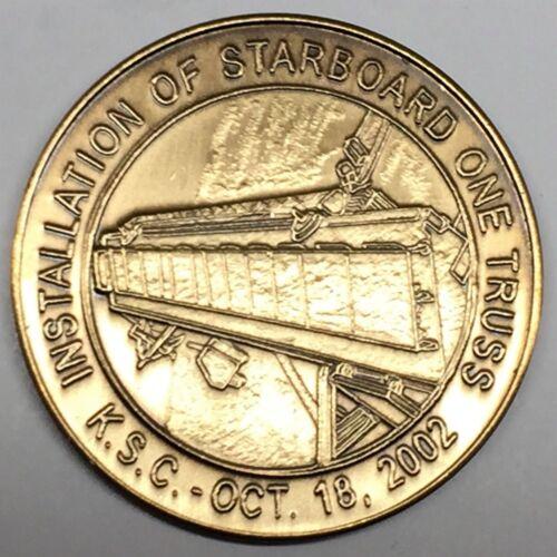 STS-115 ATLANTIS N115      NASA  SPACE SHUTTLE   COIN MEDAL