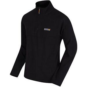 Regatta Thompson Men's Fleece Black L Rma021blal